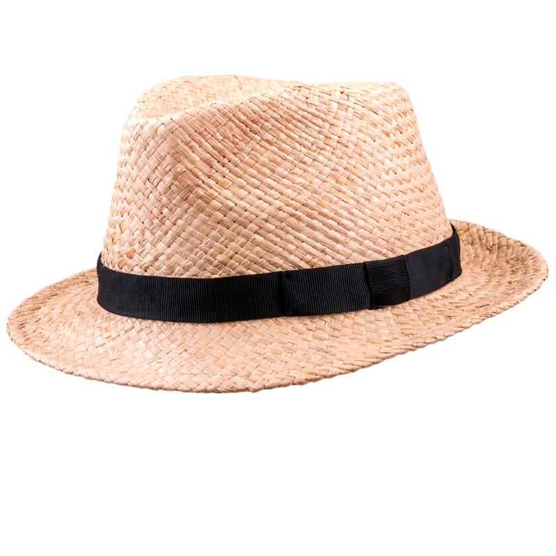 ad2e6a3fb Béžový pánsky slamený klobúk Assante 80005