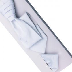 Svadobná regata biela - Anglická kravata. 55b209a872