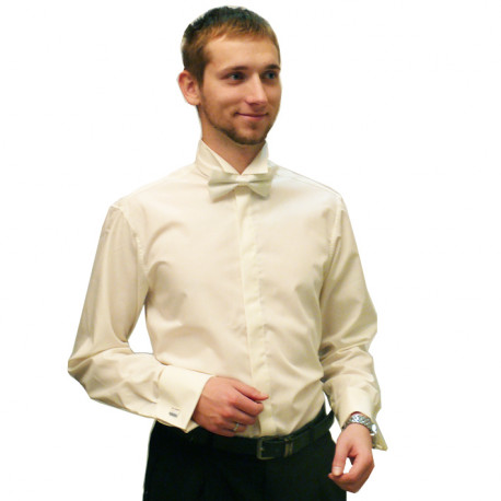 Pánska košeľa na manžetový gombík predĺžená 20203