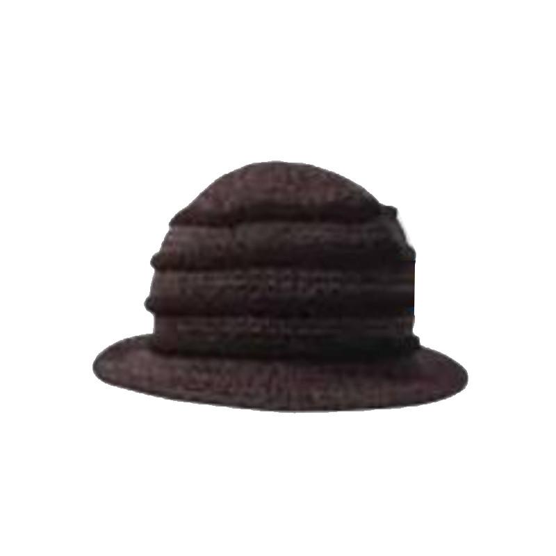 771a04574 Čierny klobúk dámsky Pletex 87588