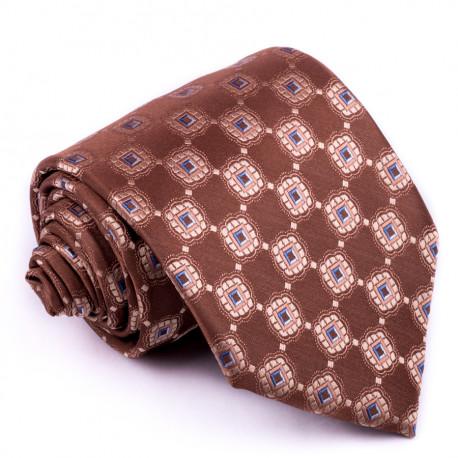 Hnedá pánska kravaty Greg 92907