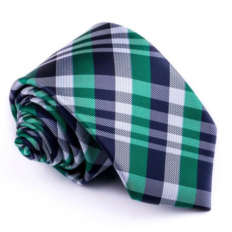 Zelená pánska kravata Greg 95023