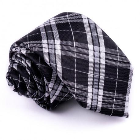 Úzka sivá kravata Greg 99020