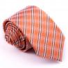 Slim fit oranžová kravata Greg 99701