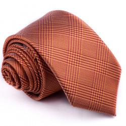 Úzka oranžová kravata Greg 99702