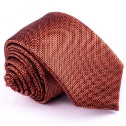 Oranžová slim fit kravata Greg 99704