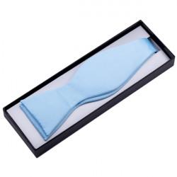 Svetlo modrý viazací motýlik Assante 90356