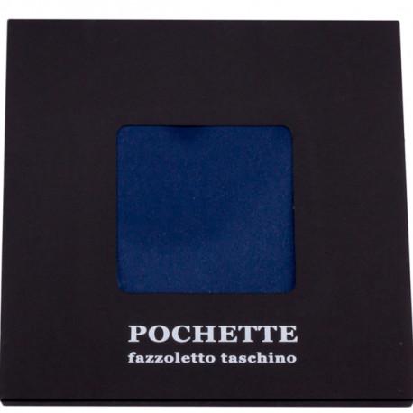 Tmavá modrá vreckovka do saka Assante 90613
