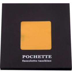 Žltá vreckovka do saka Assante 90616