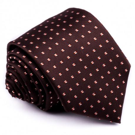 Hnedá kravata Greg 92002