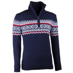 63116c70b4bd Modrý pánsky sveter nórsky vzor Assante 51022
