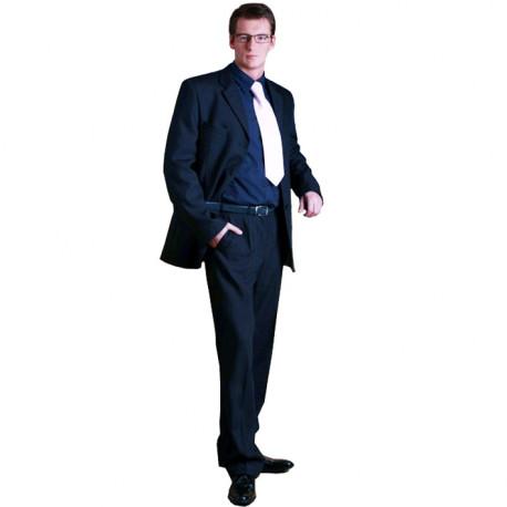 Modrý pánsky oblek predĺžený na výšku 182 - 188 cm favorite 160639