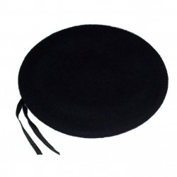 Pánsky francúzsky baret čierny Assante 85120