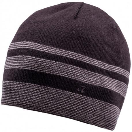 3ee2c1b87 Šedočierna pletená pánska čiapka Assante 86005