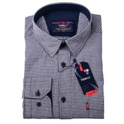 Čiernobiela košeľa 100% bavlna Tonelli 110957