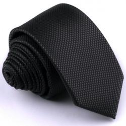 Čierna kravata Rene Chagal 91015