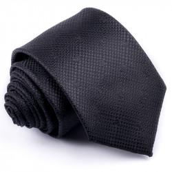 Čierna kravata Rene Chagal 91010