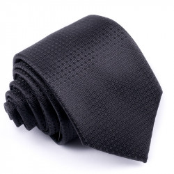 Čierna kravata Rene Chagal 91011