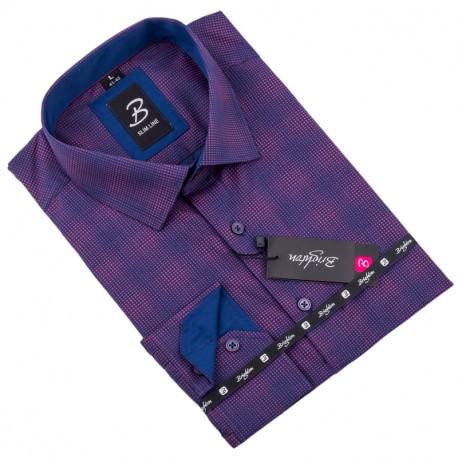 Košeľa Brighton fialová 110008