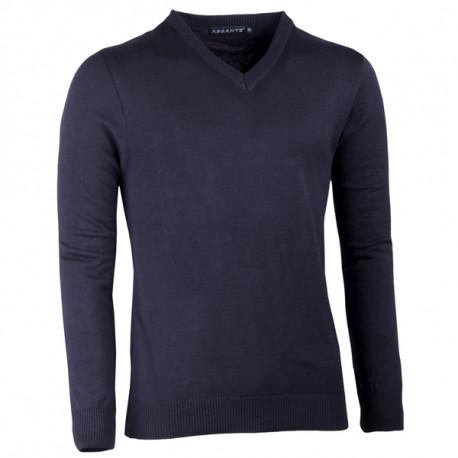 Čierny pánsky sveter do véčka Assante 51018