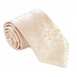 Zlatá svadobná kravata Greg 92800