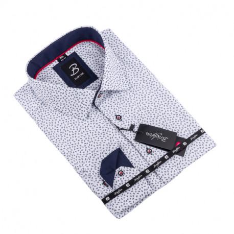 Košeľa Brighton bielomodrá 109922