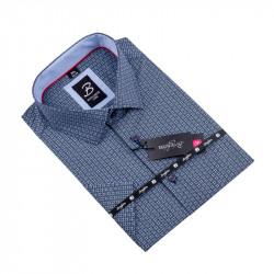 Košeľa Brighton modročierna 109807