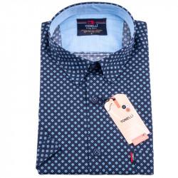 Tmavo modrá košeľa Tonelli 110832