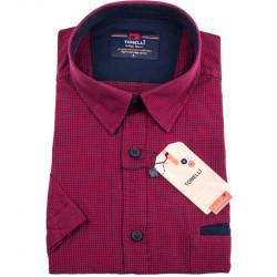 Červenočierna košele Tonelli 110836