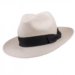 Smotanový letný Panama klobúk Assante 80010