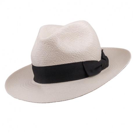 6cbb57f23 Smotanový letný Panama klobúk Assante 80010