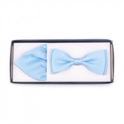 Pánsky motýlik farba svetlo modrá Assante 90230
