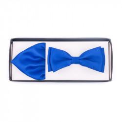 Pánsky motýlik farba stredne modrá Assante 90231