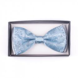 Pánsky motýlik farba svetlo modrá Assante 90390