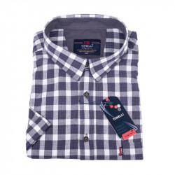 Košeľa s sivobielu kockou Tonelli 110859
