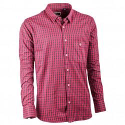 Červenočerná kocka košeľa 100% bavlna Tonelli 110976