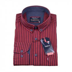Červená pruhovaná košeľa Tonelli 110973