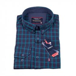 Modro modrá košeľa Tonelli 110975