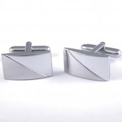 Manžetové knoflíky stříbrné barvy Assante 90526