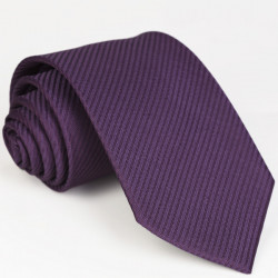 Pánská fialová kravata slim Greg 96046