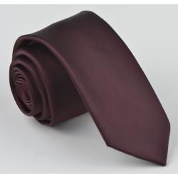 Vínová kravata jednobarevná Greg 999/31