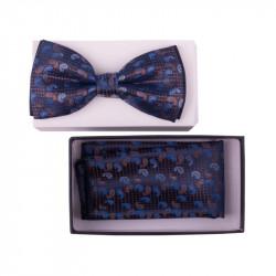 Pánsky motýlik farba modrá Assante 90320