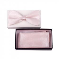 Pánsky motýlik farba ružová Assante 90334