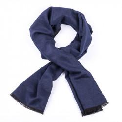 Modrá pánska šál Assante 89026
