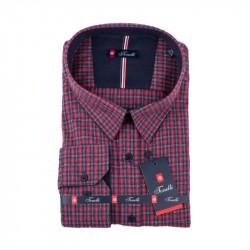 Červenomodrá Kockovaná košeľa Tonelli 110992