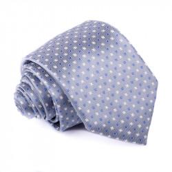 Šedomodrá kravata Greg 91194