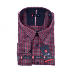 Červenomodrá Kockovaná košeľa Tonelli 110993