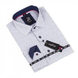Košeľa Brighton bielomodrá 109801