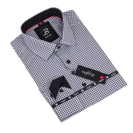 Košeľa Brighton bieločierná 109804