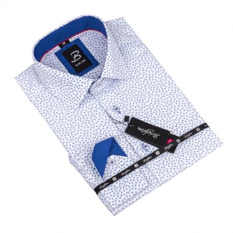 Košeľa Brighton bielomodrá 110018